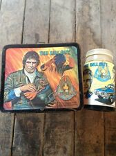 Vintage Aladdin The Fall Guy 1981 Lunchbox W/ Thermos