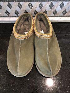 Women's UGG Green Tasman Slippers- size 11- #5955