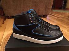 Nike Air Jordan 2 Retro Radio Raheem Black Blue White Pink 834274-014 Size 14