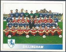 PANINI FOOTBALL LEAGUE 95 -#574-GILLINGHAM TEAM PHOTO