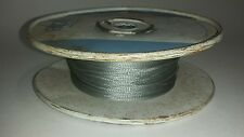 Alpha Wire, Flat Braid, p/n 1224, 3/32 19AWG Approx 800 ft.