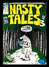 """NASTY TALES #3 1971 ROBERT CRUMB GILBERT SHELTON """"RARE""""BRITISH UNDERGROUND COMIX"""