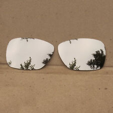 Silver Mirrored Replacement Lenses for-Oakley Inmate Sunglasses Polarized