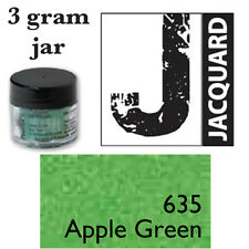 Pearl Ex Mica Powdered Pigments - 3g bottles - APPLE GREEN 635