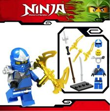 Ninjago Blue Ninja Jay ZX Spinjitzu Custom Lego Mini Figure Lloyd Kai Army Toy