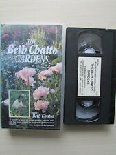 THE BETH CHATTO GARDENS VHS TAPE 1997 FARMING PRESS, TESTED.