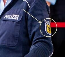 FANCY DRESS PARTY COSTUME PROP: GERMAN POLICE SHOULDER SLEEVE INSIGNIA (νeΙ©®⚙)