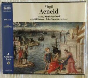 Virgil - The Aeneid (Brand new Naxos CD audiobook boxset still in shrinkwrap)