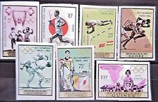 Guinea 1965 Olympic Games-Tokyo Set Imperforate.