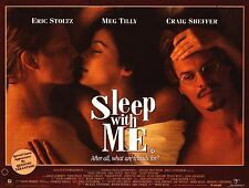 MOVIE POSTER~Sleep With Me 1994 30x40 British Quad Eric Stoltz Meg Tilly Sheffer