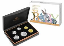 2015 AUSTRALIA BABY PROOF COIN SET - THE ALPHABET SERIES RAM ISSUE -SOLD OUT