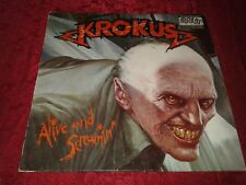 Krokus - Alive And Screamin' [Arista] (LP Ex. Vinyl with Inner Picture Sleeve)