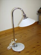 ART DECO - Tischlampe/Stehlampe - Chrom/Marmor/Glas - VINTAGE - TOP Zustand