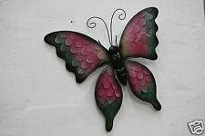 mariposa figura animal metal Falter NUEVO ANIMAL ANIMALES DECORACION mu-904968