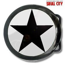 Étoile noire ACIER boucle de ceinture Rockabilly Nautical Indie Emo Electro