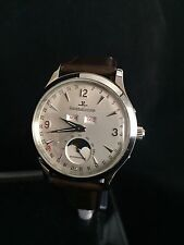 Jaeger LeCoultre Master Moon Triple Date Q143842A wrist watch moonphase