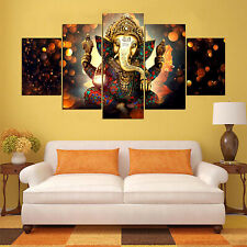 Mandala Elephant Paints Home Canvas Pictures Mural Wall Hanging Decor Painting