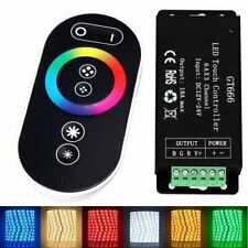 GT666 RF LED RGB Controller 18A Touch Radio Control unit Wireless + Remote Contr
