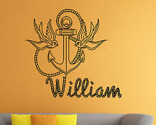 Personalized Name Wall Decal Custom Family Name Vinyl Sticker Wall Art Decor 24
