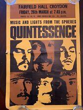 Concert Poster Quintessence 1970's England