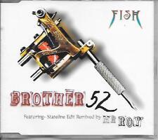 FISH - Brother 52 CD SINGLE 4TR UK 1997 (MARILLION)