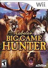 Cabela's Big Game Hunter (Nintendo Wii, 2007) Brand new sealed