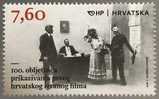 Kroatien Croatia 2017 Nr. 1290 100 Jahre erster kroatischer Film Kino Fernsehen