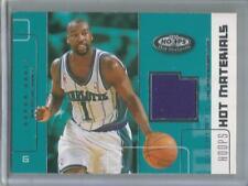 2002-03 Hoops #HM-BD, Baron Davis  Game Used Basketball Card