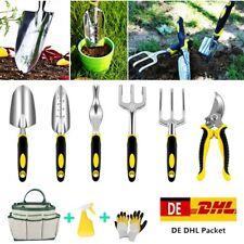 9 Tlg Gartenwerkzeug Profi Set Gartengeräte Garten Unkrautmesser Schaufel Mini