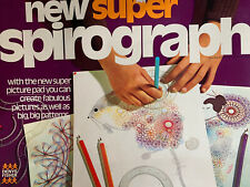 SPARE/REPLACEMENT PARTS FOR VINTAGE NEW SUPER SPIROGRAPH DENYS FISHER