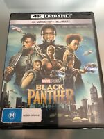 BLACK PANTHER****4K ULTRA HD BLU-RAY****REGION FREE****NEW & SEALED