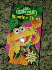 Sesame Street Imagine That VHS