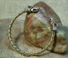Viking Bracelet moleté Bronze Poisson scorpion 29g Hommes bracelet
