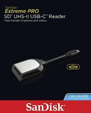 SanDisk Extreme Pro Sd Memory Uhs-Ii Usb Type-C Card Reader Sddr-409 Sdhc Sdxc