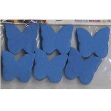 Confettis papillons bleu turquoise en papier de soie 50 grammes déco de table