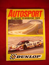 Autosport Le Mans yearbook 1989