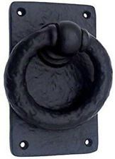 Black Antique Cast Iron Door Ring Knocker