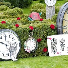 TRULY ALICE 8 CURIOUS PROPS Alice In Wonderland Wedding Party Props Giant Cards