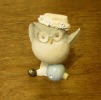 Foundations #4047716 by Karen Hahn Enesco OWL on ORNAMENT, NIB From Retail Store