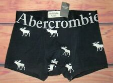 MENS ABERCROMBIE & FITCH BIG MOOSE NAVY BLUE BOXER BRIEF SIZE S (29/30)