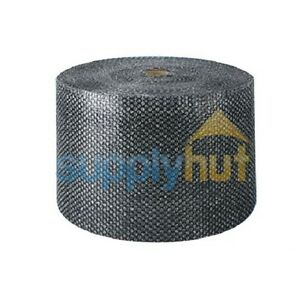 """3/16"""" Small Bubble Cushioning Wrap Black Roll 700' x 12"""" Wide 700FT Perf 12"""""""