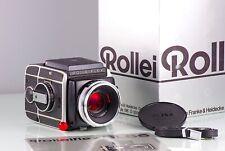 Premium Clasic SLR 6X6 120-220 Rolleiflex SL66 Zeiss Hft 80mm near Mint in Box