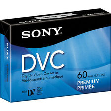1 Sony premium Mini DV video tape for PC105 PC101 PC1000 PC100 HC96 HC90