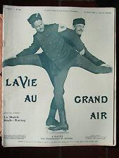 LA VIE AU GRAND AIR N°388 (fév.1906) HOCKEY sur gazon / Automobiles de guerre