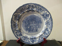 Circa 1905 Souvenir Plate High Rock Spring Saratoga Springs New York England #