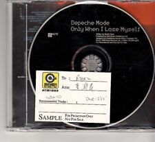 DEPECHE MODE*ONLY WHEN I LOSE MYSELF*CD*PROMO*RCDBONG29*ROCK RECORDS STICKER