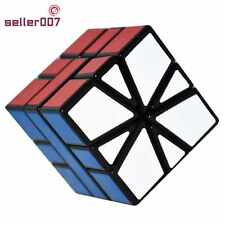 Special Shaped Magic Puzzle Playing Rubiks Cube Black 55mm With Flexible Turning