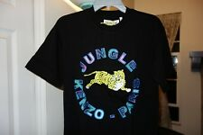 H&M x Kenzo T-Shirt With Appliqués Men's Size Small Black