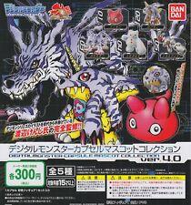 Digimon: Digital Monsters Gashapon Capsule Mascot ver.4.0 Complete Set Japanese
