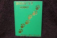1987 Speake High School Yearbook Danville, Alabama Annual The Bobcat